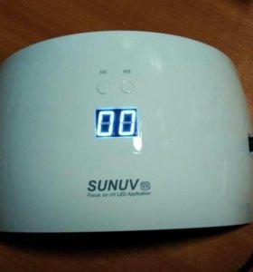 Лампа для ногтей UV/LED SUNUV9х 24W НОВАЯ