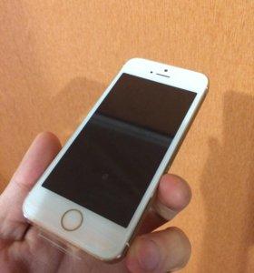Телефоны iPhone 5s 16/32 золото