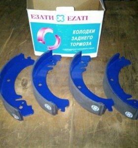 Тормозные колодки ваз2101-2106-2107 задние