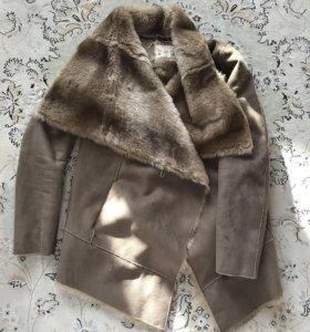 Куртка замшевая с мехом
