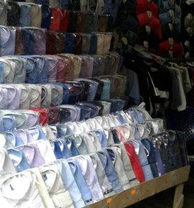 Рубашки жилетки свитера