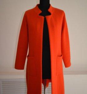 Пальто кардиган (новое)