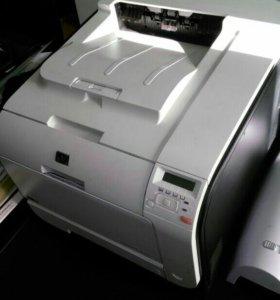 Проф. цветной лазерный принтер HP Laser Jet M451dn
