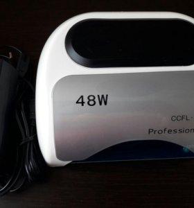 Габридная лампа для ногтей CCFL/LED 48W НОВАЯ