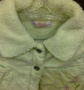 Куртка тёплая весна-осень.
