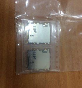 Разъём Слот для симкарты Samsung t310/311