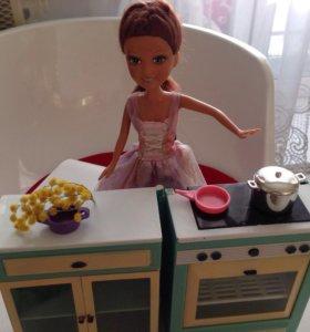Барная стойка (кукла в подарок)