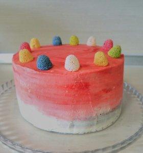 Торт,Бисквитный ,Муссовый