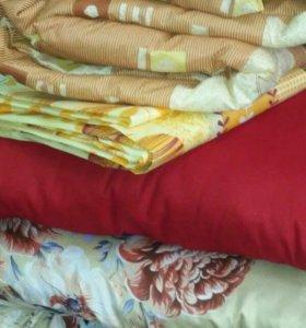 Постельный комплект (для хостелов) матрас +одеяло+
