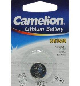 Батарейка Camelion CR1620 NEW