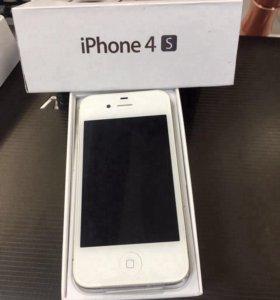 Новый iPhone 4s на 16gb