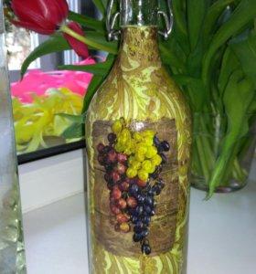 Бутылка под вино, чачу🍷🏺