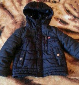 Куртка демисезонная на мальчика(98р)