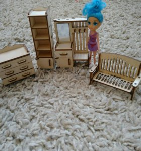 Мебель для кукол и домика