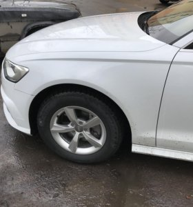 Зимний комплект колёс на Audi A6