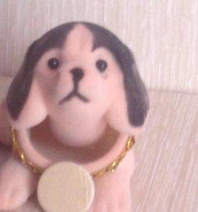 Фигурка декоративная. Пёс, качающий головой