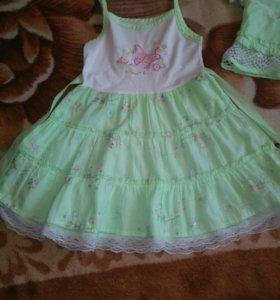 Комплект платье с верхом