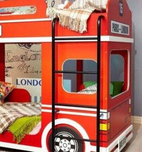Кровать двухъярусные автобус