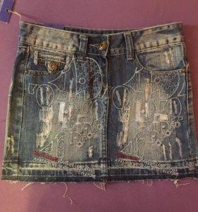 Юбочка джинсовая новая