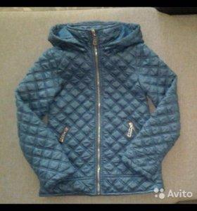 Демисезонная куртка для девочки, 146