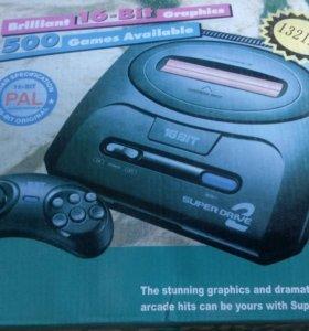 Приставка Sega Super Drive 2