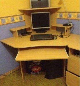 Стол компьютерный и тумба