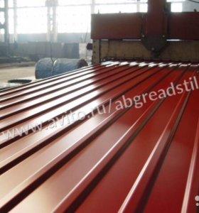 Профнастил С-10 RAL3011 коричнево красный 0.4мм