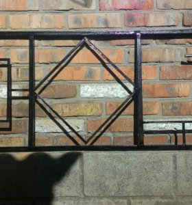 Ограда, лавка, стол, крест, мангал, забор