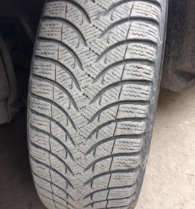 Резина Michelin alpin a4. Зима. 195/65R15.