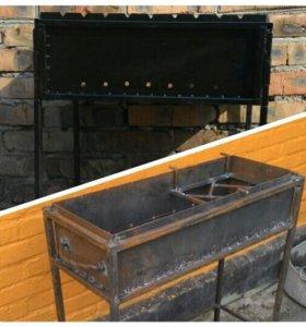 Изделия из металла (ограда, стол, лавка и т.д)