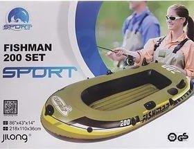 Лодка пвх Fishman 200 Set Sport