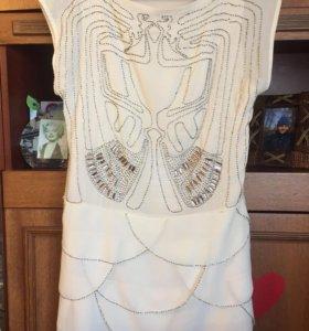 Шефоновое платье разлетайка