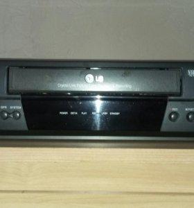 Видео магнитофон LG