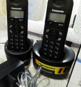 Телефон безпроводной,PAnassonik,ц. 2300 р.