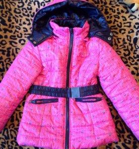Куртка на девочку 116 весна-осень