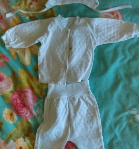 Детский костюм и носочки
