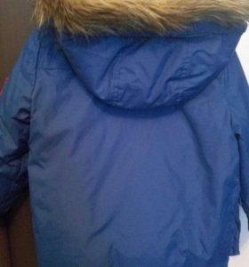 Куртка-парка zara на мальчика