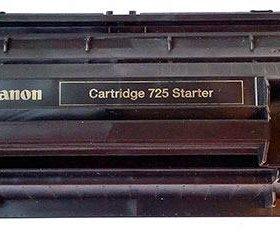 Canon 725 Заправка картриджа