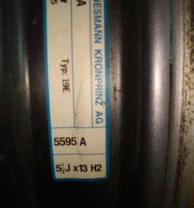 Диски штамповка r13 4х100