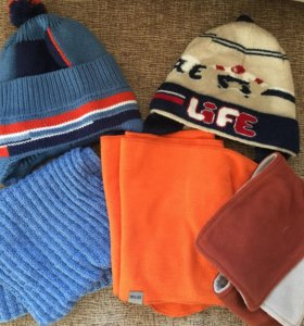Шапки зимние и шарфы (зима)
