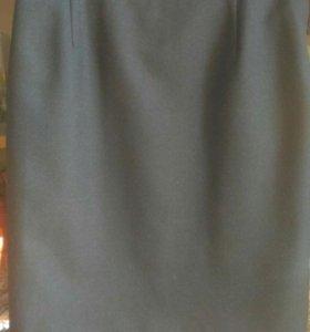 Классическая юбка в офис