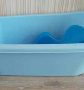 Ванночка +горка для новорожденного