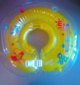 Надувной круг для купания 0-6 мес.