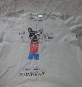 футболки zara новые