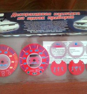 Накладка на щиток приборов ВАЗ 2106