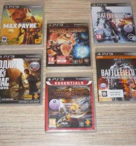 Разные игры PlayStation 3 диски ps3 камера мув