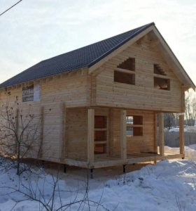 Строим деревянные дома и бани
