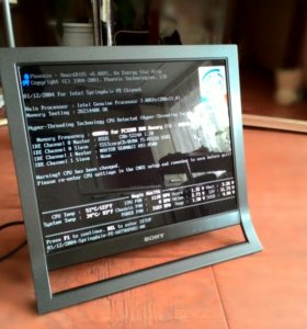 """Глянцевый Монитор 19"""" sony SDM-HS95P/R"""