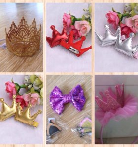 НОВЫЕ Аксессуары для маленьких принцесс
