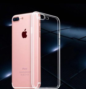 Силиконовый чехол на iPhone 7 Plus
